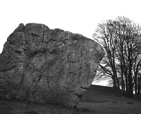 The enormous southern entrance stone at Avebury is 16ft tall and weighs 60 tons.